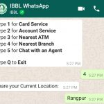IBBL WhatsApp Banking Services 12